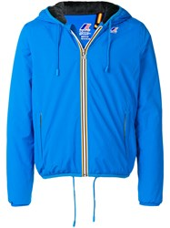 K Way Jacques Ripstop Jacket Blue