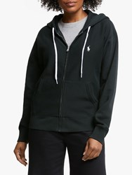 Ralph Lauren Polo Zip Through Hoodie Polo Black