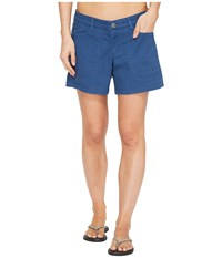 The North Face Boulder Stretch Shorts Shady Blue Women's Shorts