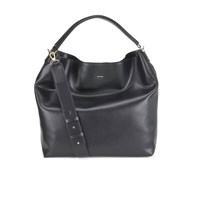 Paul Smith Accessories Women's Crossbody Leather Hobo Bag Black