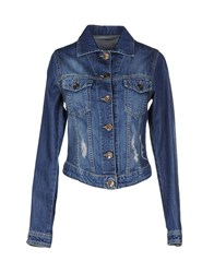 Biancoghiaccio Denim Denim Outerwear Women Blue