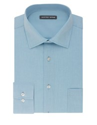 Geoffrey Beene Cotton Blend Dress Shirt Soft Blue