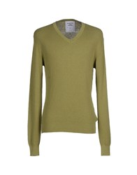 Re Edition Knitwear Jumpers Men Military Green