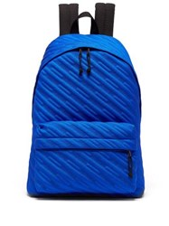 Balenciaga Explorer Canvas Backpack Blue