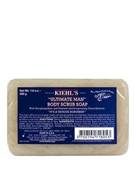 Kiehl's Ultimate Man Body Scrub Soap No Color