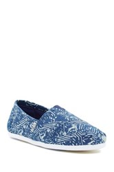 Toms Classic Slip On Shoe Blue