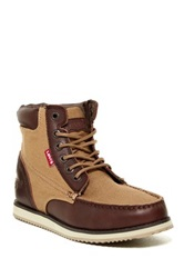 Levi's Dean Lace Up Moc Boot Brown