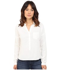 Mavi Jeans Pocket Blouse Antique White Women's Blouse