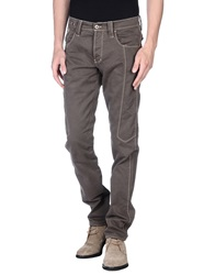 Chiribiri Casual Pants Dark Brown
