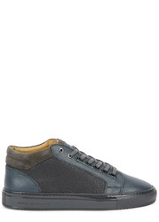 Android Propulsion Grey Leather Trainers