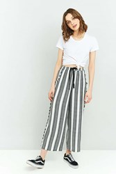 Staring At Stars Frayed Wide Leg Pant Grey
