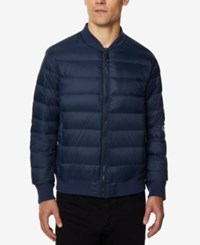 32 Degrees Men's Packable Bomber Jacket Navy
