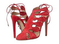 Chloe Gosselin Calico Red Women's Dress Sandals