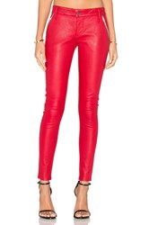 Rta Lucy Leather Skinny Red