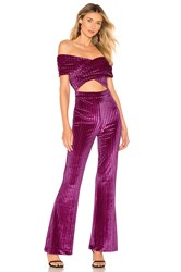 House Of Harlow X Revolve Lynette Jumpsuit Pink