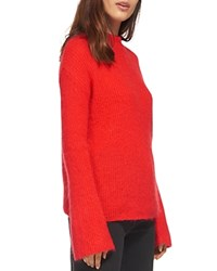 Whistles Flared Sleeve Chunky Knit Sweater