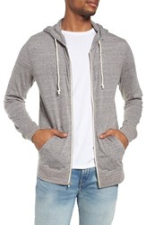 Threads For Thought Giulio Zip Hoodie Heather Grey