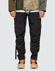 Mhi Maharishi Tech Cargo Track Pants Black