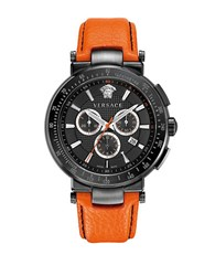 Versace Mens Mystique Sport Watch Orange