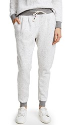 Sol Angeles Peppered Pleated Jogger Light Grey