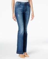 Inc International Concepts Indigo Wash Slim Flare Jeans Only At Macy's