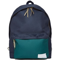 Nanamica Cordura Daypack Navy And Green Twill