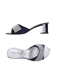 Chiara Pasquini Footwear Sandals Women Dark Blue