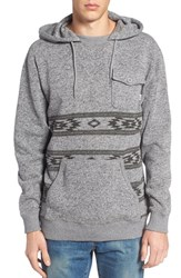 Vans Men's Subtropic Hooded Fleece Pullover Heather Grey