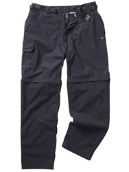 Craghoppers Kiwi Zipoff Trousers Navy