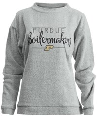 Royce Apparel Inc Purdue Boilermakers Comfy Terry Pullover Oatmeal