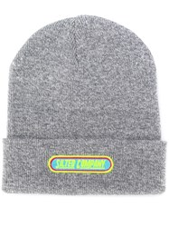 The Silted Company Logo Beanie Hat Grey
