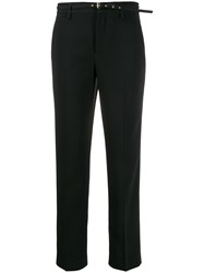 Red Valentino Belted Cropped Trousers 60