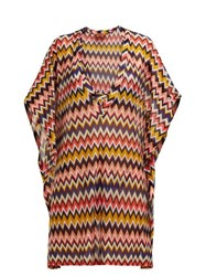 Missoni Mare Chevron Stripe Kaftan Multi