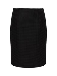 Precis Petite Isabella Textured Skirt Black
