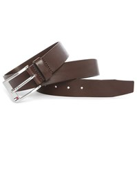 Tommy Hilfiger Brown New Aly Leather Belt 3.5 Cm