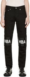 Hood By Air Black Hockey Jeans