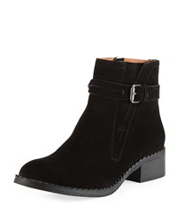 Gentle Souls Best V Gored Booties Black