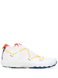 Barena Crossed Laces Sneakers White