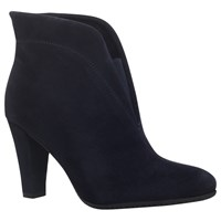 Carvela Comfort Rida Cut Out Ankle Boots Navy