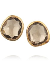 Munnu 22 Karat Gold Zircon Earrings
