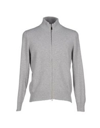 Cains Moore Cardigans Light Grey