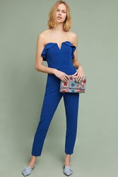 Greylin Penny Strapless Jumpsuit Blue