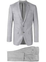 Hugo Boss Two Piece Evening Suit Grey