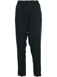 Obey Straight Leg Trousers Black