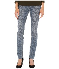 Marc By Marc Jacobs Uptown Stretch Cone S147 Mid Rise Skinny Painted Leopard