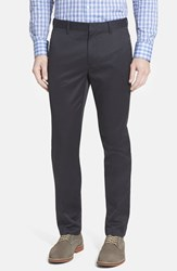 Men's Bonobos 'Weekday Warrior' Non Iron Tailored Cotton Chinos Tuesday Blacks