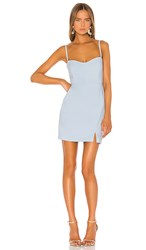 Nookie Muse Mini Dress In Blue. Powder Blue
