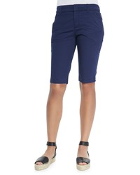 Vince Bermuda Side Buckle Shorts Women's