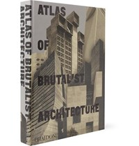 Phaidon Atlas Of Brutalist Architecture Hardcover Book Black
