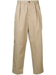 Marni Loose Fit Trousers Neutrals